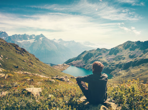Meditacija, čovek u miru sa sobom