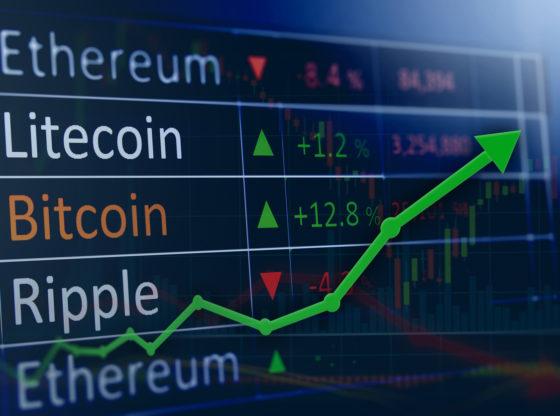 Rast cena kriptovaluta