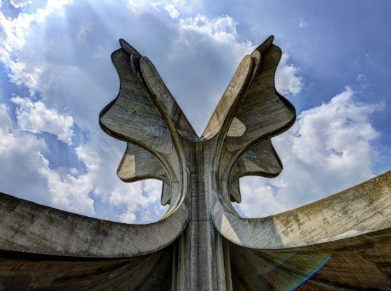 Spomenik Drugom svetskom ratu, logor Jasenovac u Hrvatskoj