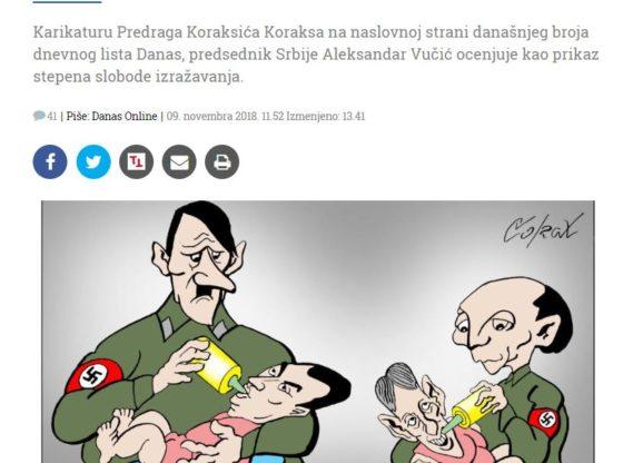 Postoje li granice slobode govora? Slučaj Koraksovih karikatura u Danasu