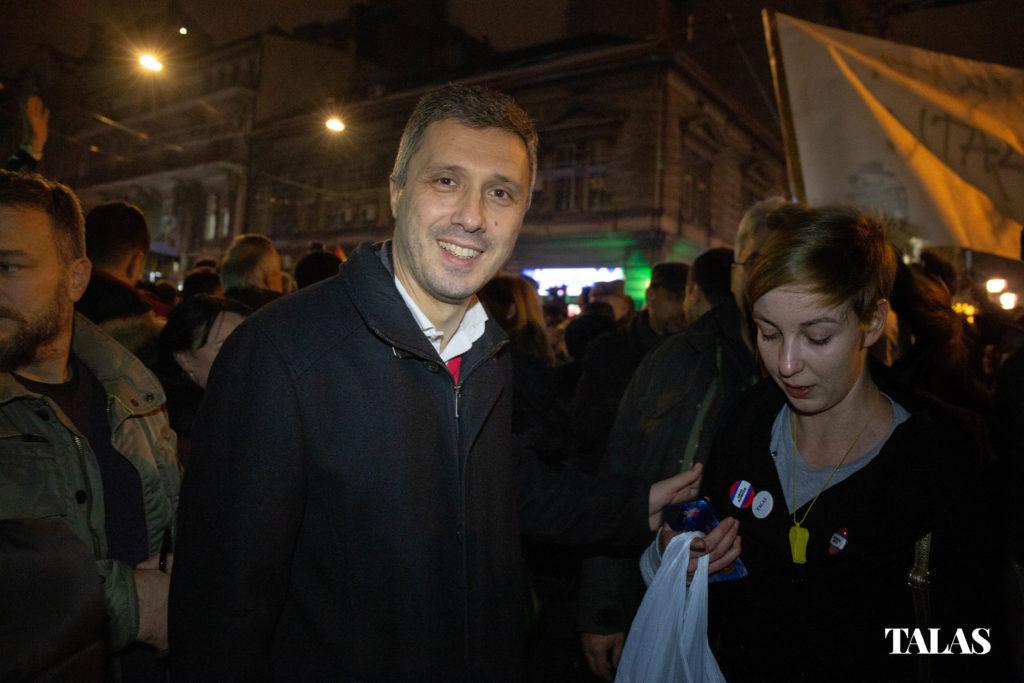 Boško Obradović, Talas.rs