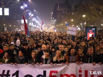 Zašto šetamo? Foto-reportaža sa trećeg protesta protiv nasilja