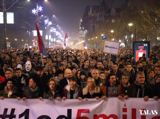 Da li je vreme da političari preuzmu aktivniju ulogu u protestima 1 od 5 miliona?