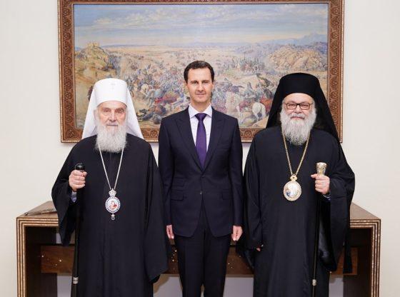 Zašto su se sastali Irinej i Asad – o sudbini hrišćana u Siriji