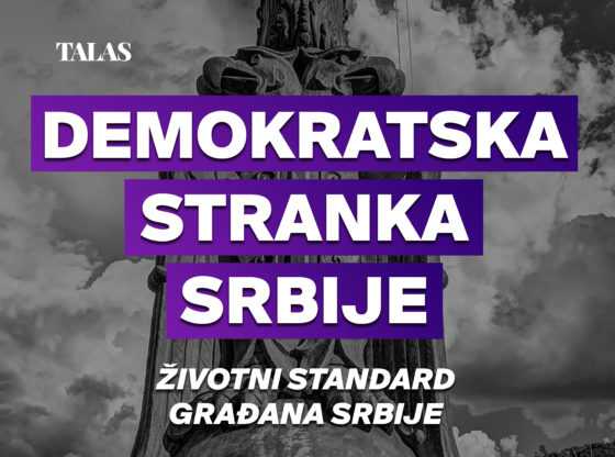 Demokratska stranka Srbije - Životni standard građana Srbije
