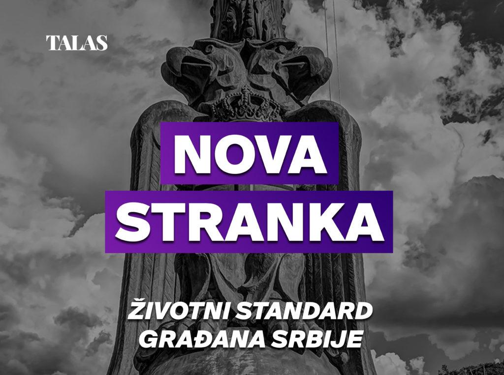 Nova stranka - Životni standard građana Srbije