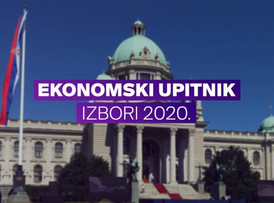 NEK MASKE PADNU – Talas ekonomski upitnik, izbori 2020.